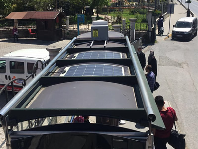 ELECTRICITY GENERATION WITH SOLAR ENERGY